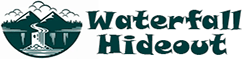 Waterfall Hide Out Logo